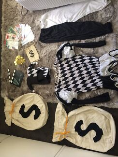 Clown costume clowning kit adult or child