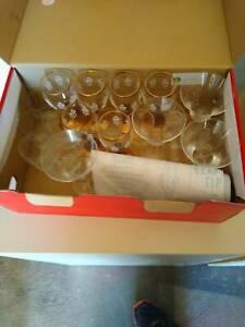 Vintage liquor glasses Como South Perth Area Preview