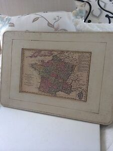 French Vintage Map of France Kingsholme Gold Coast North Preview