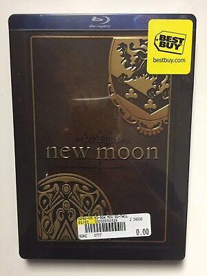 The Twilight Saga  New Moon  Blu Ray  2010  Special Edition  New Steelbook
