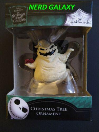 DISNEY HALLMARK Nightmare Before Christmas OOGIE BOOGIE Ornament, NEW!