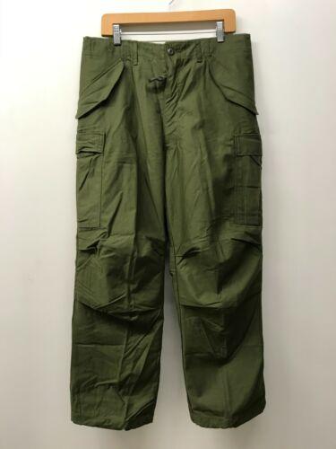 NOS M-65 OD Field Trousers Pants Shell 1976, MEDIUM / REGULAR, P-21