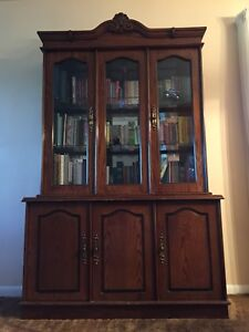**REDUCED** China Cabinet/Book Case