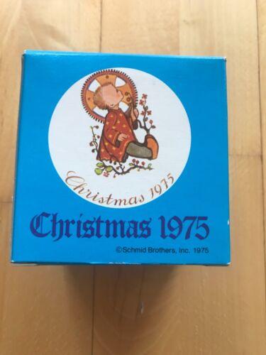 Vtg Schmid Sister Berta Hummel Christmas Ornament 1975 Christmas Child limit ed.
