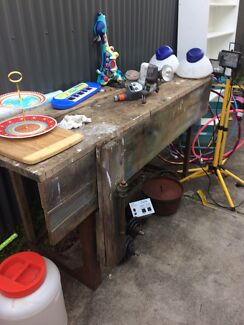 Old work bench for shed