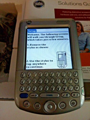 Palm Tungsten T3 PDA with Docking Station AC Adaptor