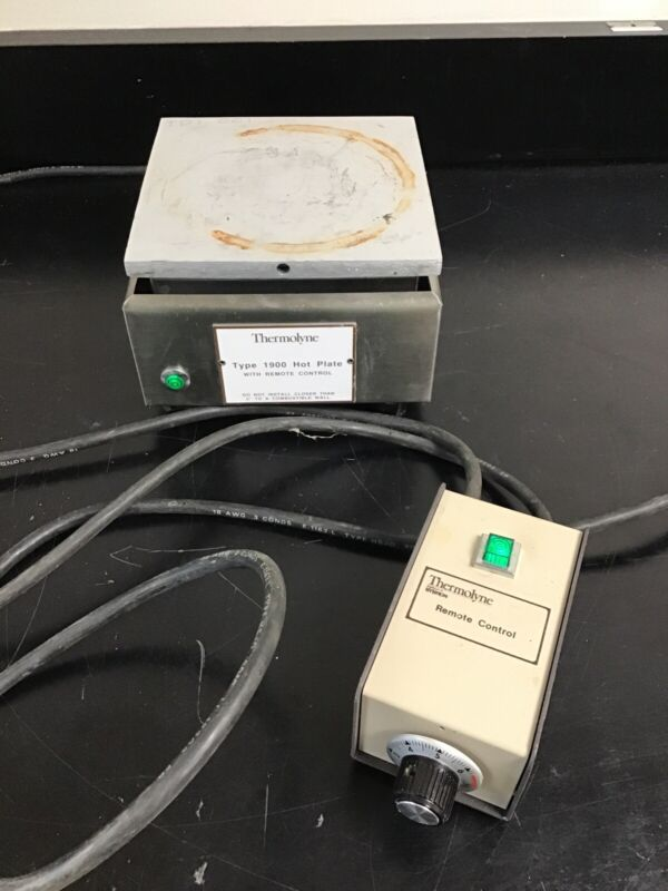 THERMOLYNE MODEL HP-RC1915 HOT PLATE W/ REMOTE
