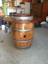 Wine barrel with oak top and ring Nuriootpa Barossa Area Preview