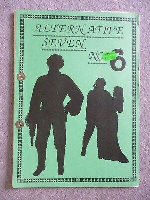 Vintage Blake's Seven 7 Fanzine. Alternative Seven # 6 (Adult Het zine)