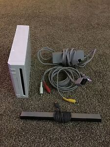 Complete Wii system with games and lots of accessories
