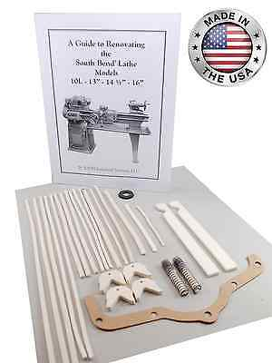 South Bend Lathe 13 - Rebuild Manual And Parts Kit All Models