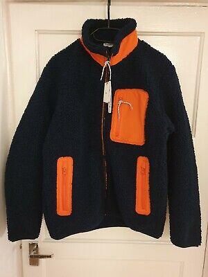 Uniqlo x J.W. Anderson Windproof Fleece Lined Full-Zip Jacket Navy - Small