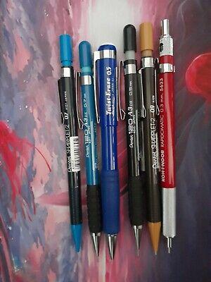 Koh-I-Noor Rapidomatic 0.3mm Mechanical Pencil 5633 Pentel lot