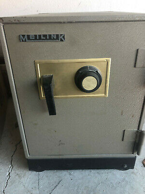 Meilink F1d Heavy Duty Fire Resistant Floor Safe - Combination