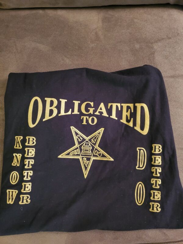 EASTERN STAR -OES OBLIGATED T-SHIRT