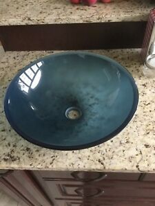 Tempered Glass Bowl Sink