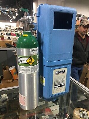 Cintas Metal Oxygen Tank Emergency First Aid Kit Wall-mounted