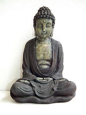 Buddha Buddhafigur Statue Gartendeko – 29 cm hoch