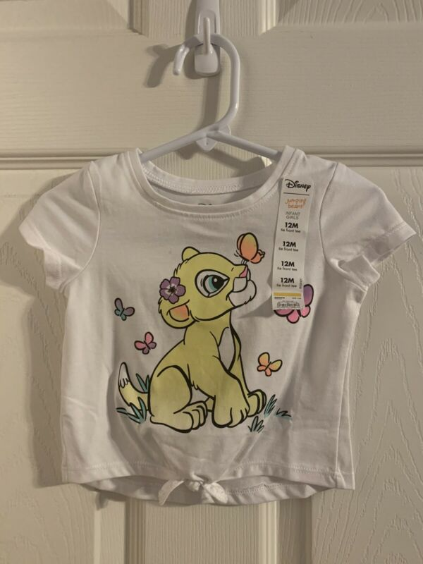 NWT Disney Jumping Beans Nala Infant Girls T Shirt 12 Months