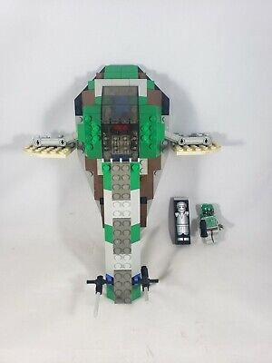 Lego Star Wars 7144 Slave 1 (7144) Near Complete With Boba Fett & Han Carbonite
