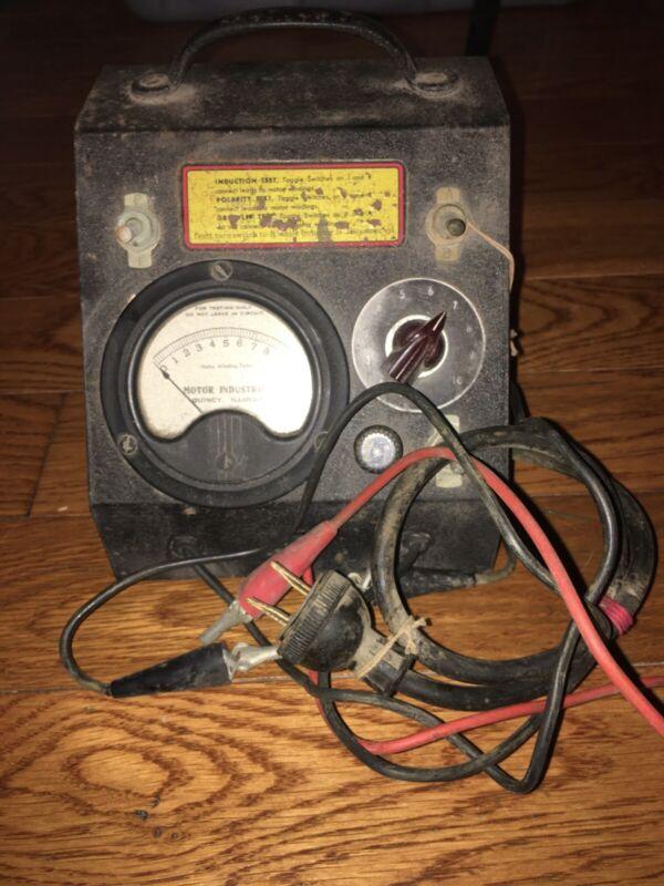 vintage Motor Industries Motor Winding Tester