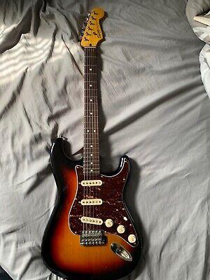 Squier Fender Classic Vibe Stratocaster 60s 3 Color Sunburst Electric Guitar