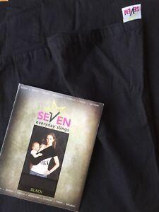 Porte bébé seven slings noir