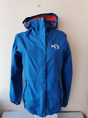 KARI TRAA Womens Jacket Zip Neck Long Sleeve  Size S
