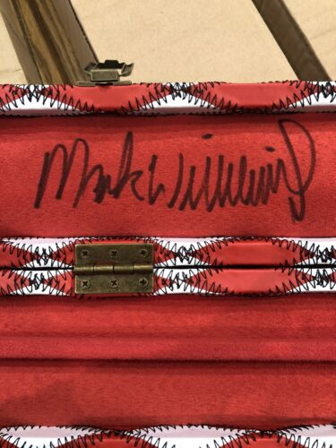 Diamond Patchwork Leather Snooker And Pool Cue Cases For 3/4 Cues. Signed By MW.