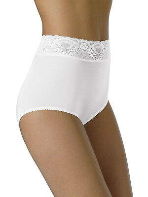 Bali Women's Lacy Skamp Brief Nylon Underwear (Skamp Nylon Brief Panties)