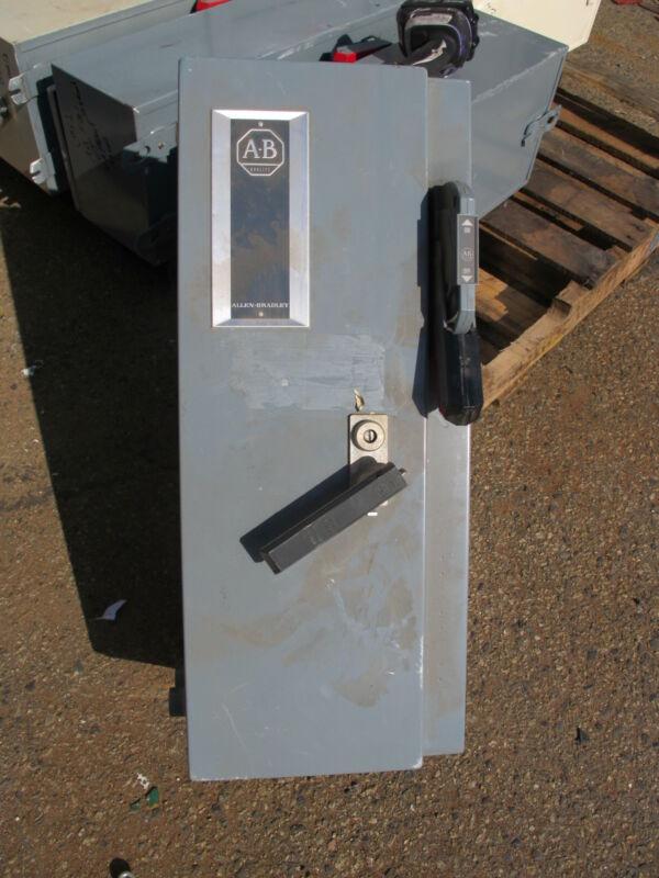 Allen Bradley Size 1 Fused Combo Mag Starter Nema 12