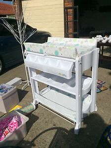 Baby change table with bath tub and shelving Sunnybank Hills Brisbane South West Preview