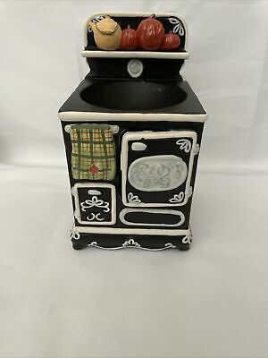 Vintage Yankee Candle Antique Kitchen Stove Wax Melt Tart Burner Fall Theme