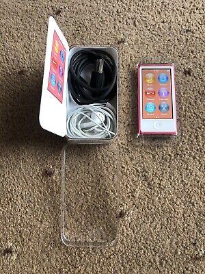 Apple iPod Nano 7th Generation Pink 16GB + USB Cable Bundle Apple Ipod Nano Usb