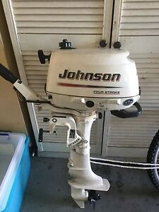 Johnson 6 hp four stroke outboard Forster Great Lakes Area Preview