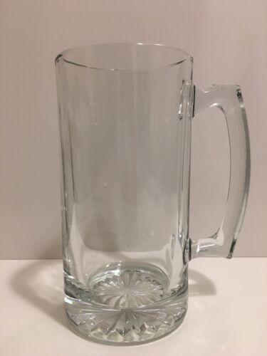 Jumbo Glass Sports Beer Mugs with Handle
