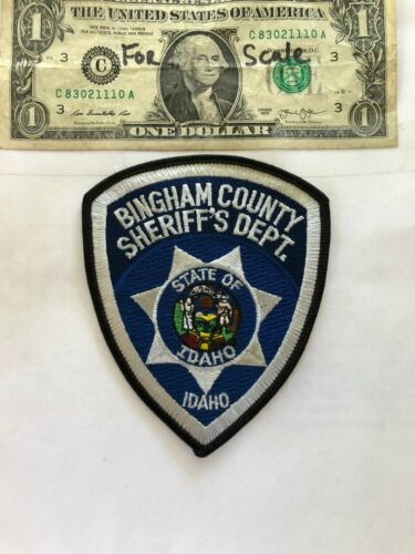 Bingham County Idaho Police Patch (Sheriff