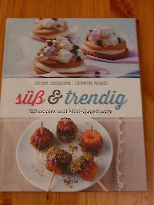 Backbuch: Süß & Trendig - Whoopies und Mini-Gugelhupfe, neu, Weltbild Verlag