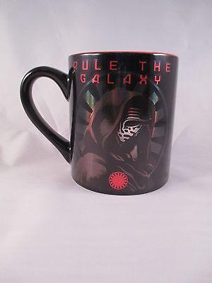 Star Wars: TFA ~ Rule the Galaxy Mug ~ Kylo Ren ~ Silver Buffalo