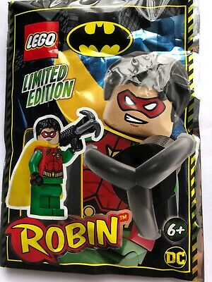 Lego Batman Robin And Grappling Hook Mini Figure Polybag