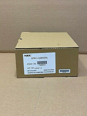 1 New Nec Dtr 1-1 Wh Single Line Analog 780021 Any Analog Linelive Dial Tone