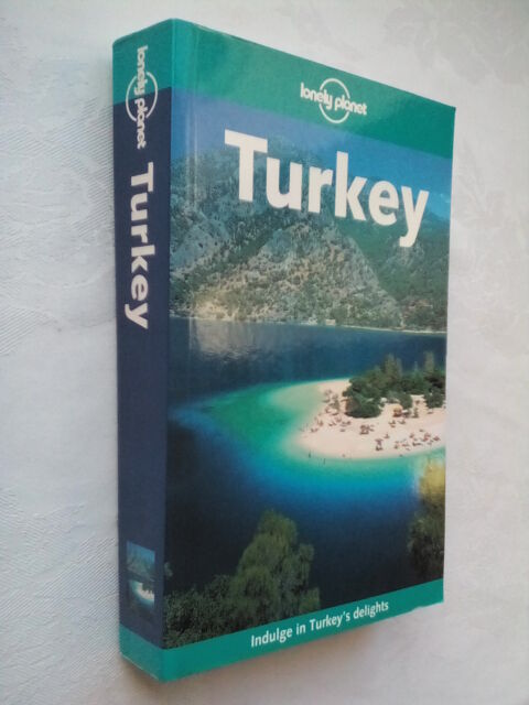 LONELY PLANET TURKEY.PAT YALE,V CAMPBELL,R PLUNKETT.S/B 2003 COL,PHOTO ILLS,MAPS