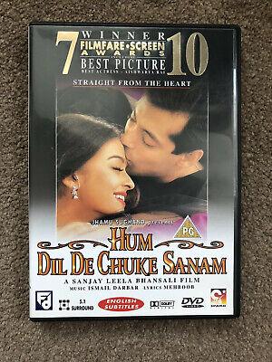 Hum Dil De Chuke Sanam Indian bollywood DVD