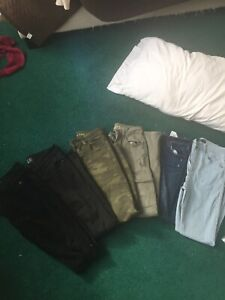Size 24 and 00 short jeans  Abercrombie and Fitch
