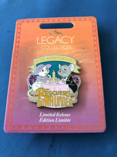 RESCUERS 30th Anniversary  Disney Pin 2020 LEGACY Collection LR NEW