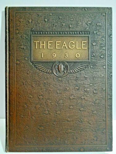 Vintage 1930 THE EAGLE Tennessee Polytechnic Institute annual