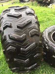 2 four wheeler tires