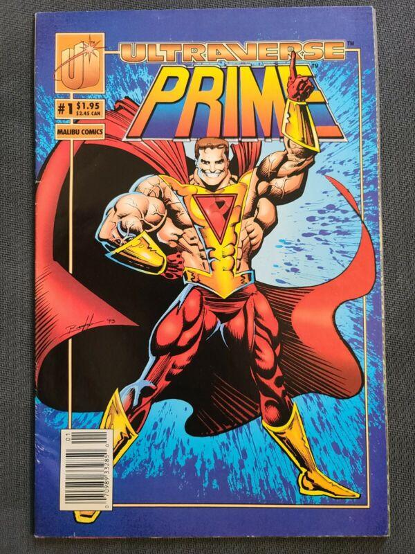 Ultraverse Prime #1  (June 1993, Malibu Comics) Newstand Edition