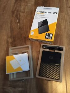 WD my passport portable HDD 1TB for MAC (or Win)