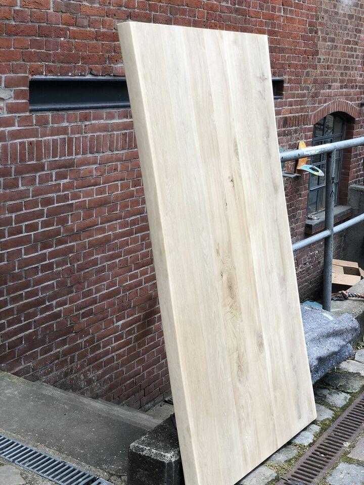 Baumkante Tischplatte 160x80 Eiche massiv Esstisch Küchentisch in Nord - Hamburg Winterhude